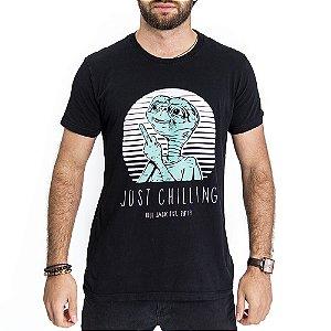 Camiseta Just Chilling - HillJack