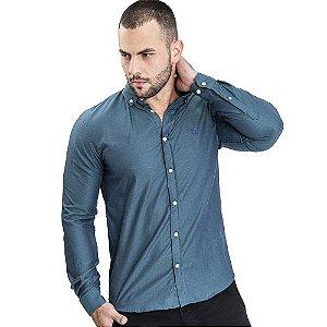 Camisa Verde Custom Fit - Ralph Lauren