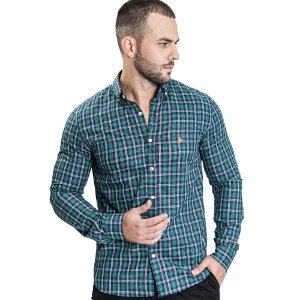Camisa Custom Fit Rodeo Green - Ralph Lauren