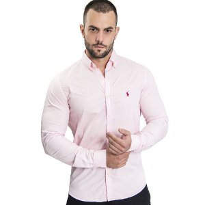 Camisa Custom Fit Baby- Ralph Lauren