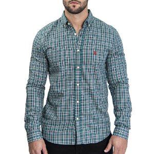 Camisa Custom Fit Glass - Ralph Lauren