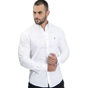 Camisa Custom Fit Clean - Ralph Lauren