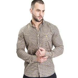 Camisa Custom Fit Peanut - Ralph Lauren