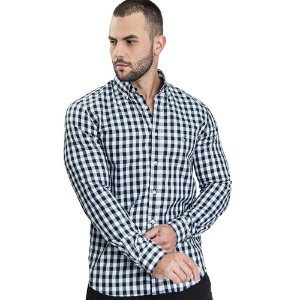 Camisa Custom Fit Small Blue - Ralph Lauren