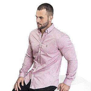 Camisa Custom Fit Cassis - Ralph Lauren