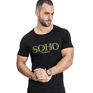 Camiseta Unissex Manhattan Preta - SOHO
