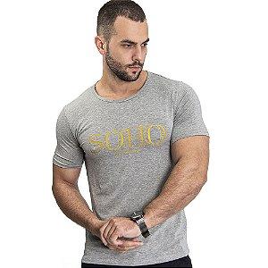 Camiseta Unissex Manhattan Cinza - SOHO