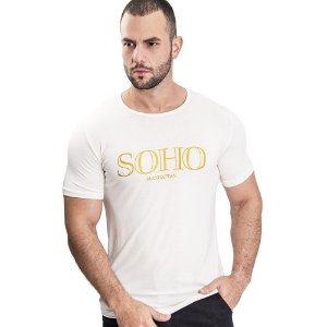 Camiseta Unissex Manhattan Off White - SOHO