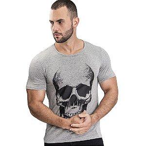 Camiseta Unissex Skull Marinho - SOHO