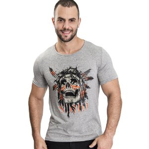 Camiseta Unissex Indian Mescla - SOHO