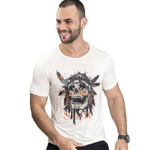 Camiseta Unissex Indian Off White - SOHO