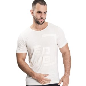 Camiseta Unissex Quadrado Off White - SOHO