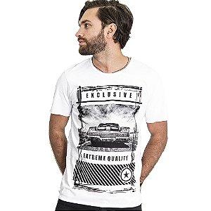 "Camiseta Skuller ""Extreme"" - Branca"