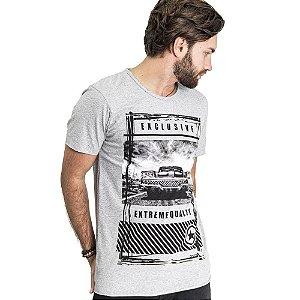 "Camiseta Skuller ""Extreme"" - Mescla Claro"