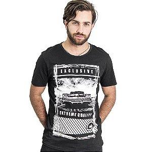"""Camiseta Skuller """"Extreme"""" - Preta"""