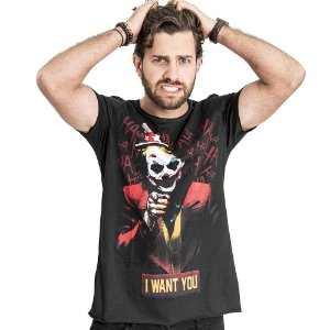 """Camiseta """"Joker"""" - SKULLER"""