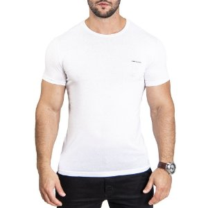 Camiseta Armani Minimals White