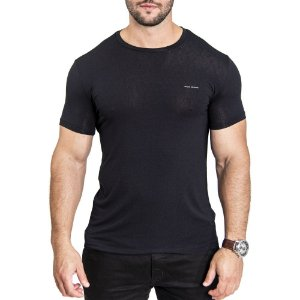 Camiseta Armani Minimals Black