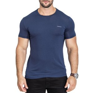 Camiseta Armani Minimals Navy