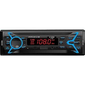 Rádio Som Automotivo Bluetooth Mp3 Usb Sd Aux FM H-Tech