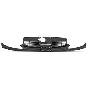 Grade Do Peugeot 206 Frontal Completa Preta