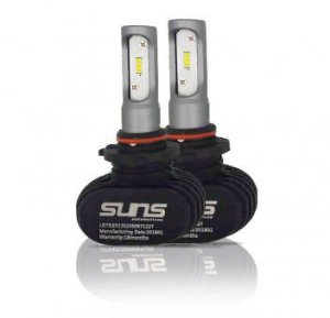 Par Lâmpadas Led Suns Hb4 6000K Headlight 12V