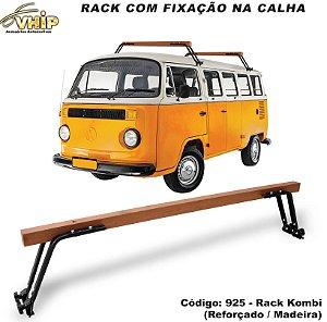 RACK DE MADEIRA DA KOMBI