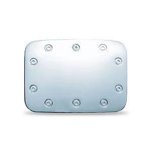 APLIQUE CROMADA DA TAMPA COMBUSTIVEL GOL G3 2000>>