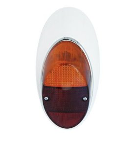 Lanterna Traseria Fusquinha 1300 Lado Esquerdo Bicolor