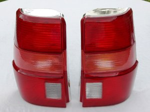 Lanterna Traseira Santanaquantum 98 A 01 Direita Vermelha