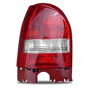 Lanterna Traseira Gol 06 A 11 Esquerda Bicolor Aba Vermelha