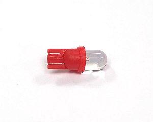 Led Lâmpada 12V Vermelho Par