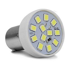 Lâmpada LED 1 Polo Trava Reta BA155-21 12 LEDs Branca Ré