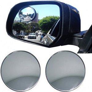 Espelho Retrovisor Convexo 75Mm Externo Universal