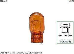 Lâmpada 6941 12V 21W Ambâr Caixa Com 10 Unidades