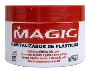 Revitalizador De Plástico Magic Carnauba