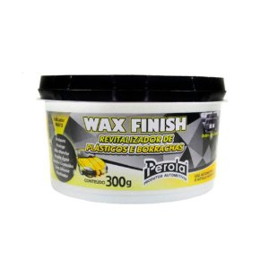 Revitalizador De Plastico Wax Finish 300G