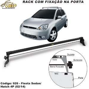 Rack De Teto Fiesta Rocam Sedan Hatch