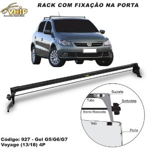 Rack Do Teto Gol Voyage G5