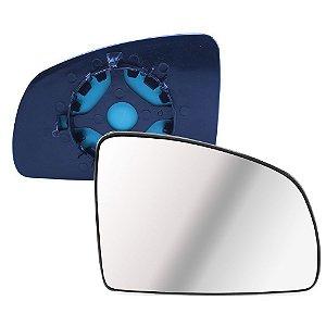 Lente Retrovisor Meriva Prisma Celta Com Base Lado Esquerdo