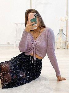 blusa tricô lucy