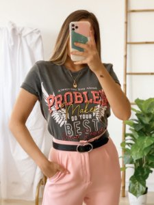 t-shirt over problem