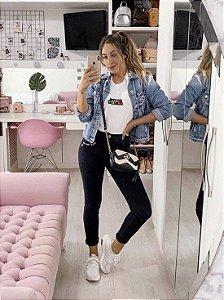 calça jeans skinny love