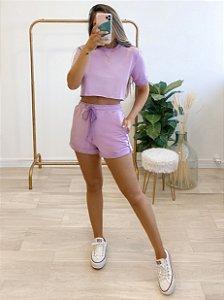 conjunto moletom nice lilás