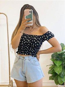 blusa cropped lastex may