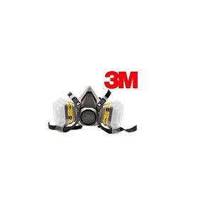 Respirador 3M Completo Série 6200 + 6003 + 5n11 + Retentor