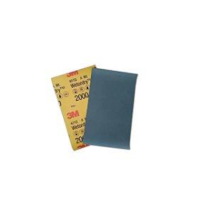 5 Lixas D Agua Para Polimento 3M 401Q 2000 139mmX228mm