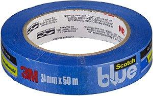 Fita Crepe Profissional 3M ScotchBlue 24mm x 50m H0002317792