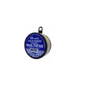 Linha De Pedreiro Trançada 100m Monofil - Multifio Kit c/18
