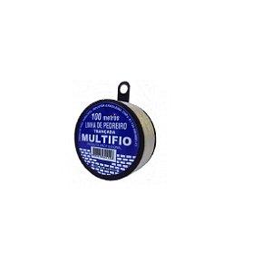 Linha De Pedreiro Trançada 100m Monofil - Multifio Kit c/20